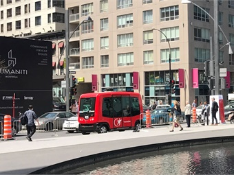 Transdev has been selected to operate an autonomous shuttle pilot for Florida's Jacksonville Transportation Authority. Photo: METRO Magazine