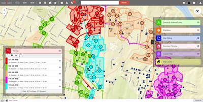 Transfinder's Routefinder PLUS will provide access to advanced geospatial and routing engines, as well as a catalog of detailed maps.