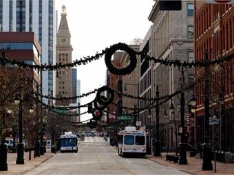 Denver's free Sixteenth Street Shuttle. Image: Alexandra Hay