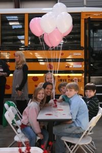 "School bus dealership Transportation South will host its third annual ""Love the Bus"" event on Valentine's Day."