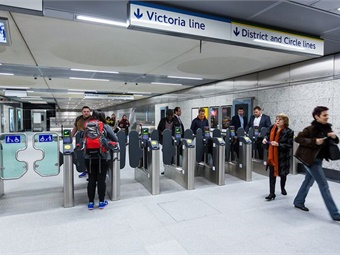 Transport for London's North Ticket Hall at Victoria Station. TfL