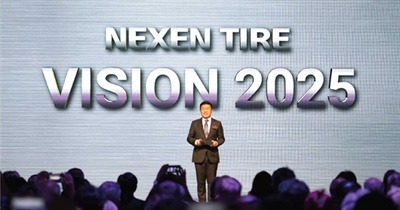 Nexen Global CEO Travis Kang celebrates the opening of the Europe plant with a welcome and vision speech.