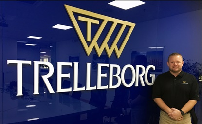 Brad Jones is tasked with helping Trelleborg expand its dealer network in the U.S.