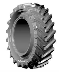 The design of the PneuTrac from Trelleborg allows the tread to work to its full potential, the company says.