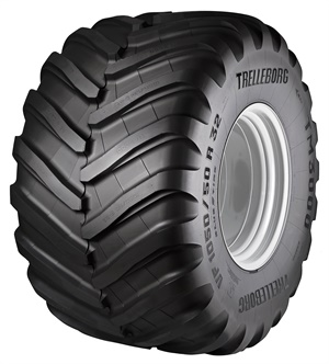 The VF sizes in Trelleborg's new TM3000 range are designed to carry a high load capacity while reducing soil compaction during spreading operations.