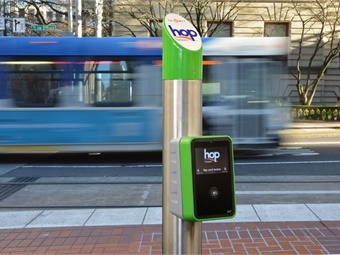 The Hop Fastpass™ system was designed following an open architecture approach which was a success of the project to allow easy integration with partners like Google.