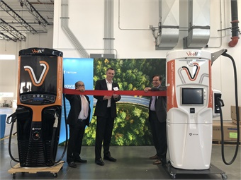 Tritium officials cut the ribbon on its new Los Angeles facility, whihc will enable them to increase production.