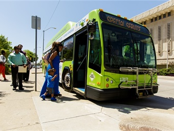Tulsa Transit has partnered with Connetics Transportation Group, a consulting firm specializing in public transportation operations for the Connecting Progress Plan, as well as with INCOG and the Community Service Council.