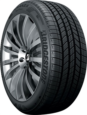 The new Turanza QuietTrack tire from Bridgestone is available in 37 sizes and has an 80,000-mile warranty.