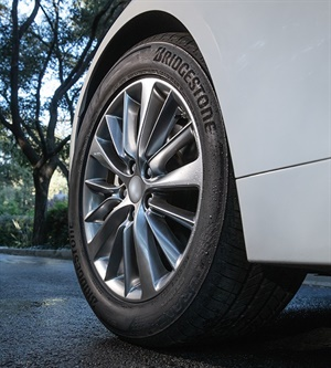 The Turanza QuietTrack all-season touring tire is available in 37 sizes.