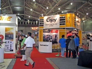 The fifth Tyrexpo Asia and GarageXpo Asia shows began on July 11.