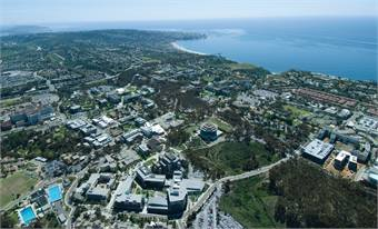 UC San Diego campus. Photo courtesy UC San Diego Publications