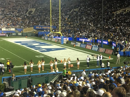 Toyo is the Official Tire of the Rose Bowl Stadium, home to the UCLA Bruins football team and the annual Rose Bowl game.