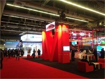 UITP Summit exhibition area.