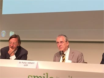 UITP Secretary General Alain Flausch and UITP President Sir Peter Hendy (shown left to right).