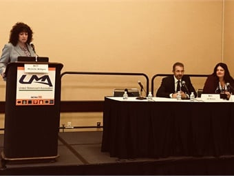 Michelle Wiltgen of National Interstate Insurance Co. hosted the UMA's session on diversification.