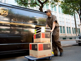 Curb data can facilitate on-time deliveries for businesses. UPS