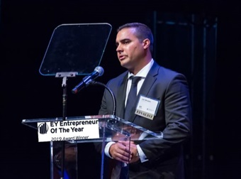 President/CEO, Joseph Mirabile, was awarded the EY Entrepreneur Of the Year Award 2019 for Security and Safety.