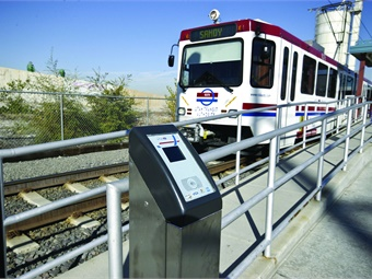 With over 45 million transit boardings a year, UTA's main goal is to deploy an app that provides users with a more convenient fare experience. Photo:UTA