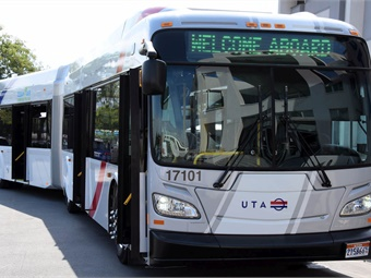 The buses will operate at a six-minute frequency during peak travel times. Photo: UTA