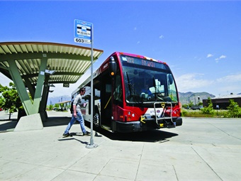 UVX's route will include Utah Valley University, University Mall, Brigham Young University, downtown Provo, and the Provo Centre mall, with the cost of the project now estimated at $201 million. UTA