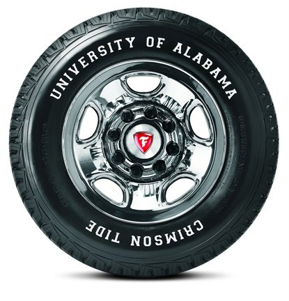 The Firestone brand is appealing to one of the nation's most ardent block of sports fans, those who support the Alabama Crimson Tide.