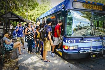 Photo courtesy Gainesville, Fla., Regional Transit System.