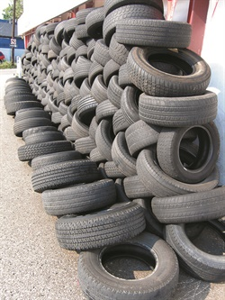 The scrap tire and tire recycling system creates a vicious cycle of used tires that may never end.