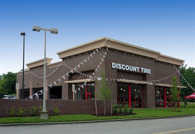 Discount Tire opened this store in Henrico, Va., in 2018. The company continues to grow with the opening of store number 1,007 in Sioux Falls, S.D. in October.