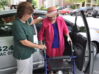 Some of the research in a new UTA study will investigate ways to make older adults more willing to try ride-sharing companies.ESPA
