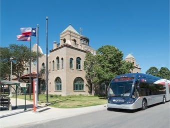 VIA Metropolitan Transit has been recognized by the Texas Transit Association (TTA) as the Outstanding Metropolitan Transit System in Texas for 2018 and received the TTA's Transit Innovation Award. Photo: VIA