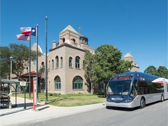 VIA Metropolitan Transit has been recognized by the Texas Transit Association (TTA) as the Outstanding Metropolitan Transit System in Texas for 2018 and received the TTA's Transit Innovation Award. Photo: VIA