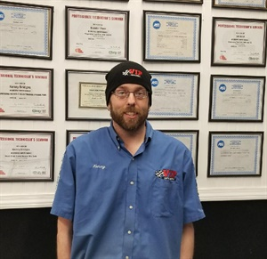 World Class Technician Kenny Bridges manages the VIP Tires and Service outlet in Bangor, Maine.