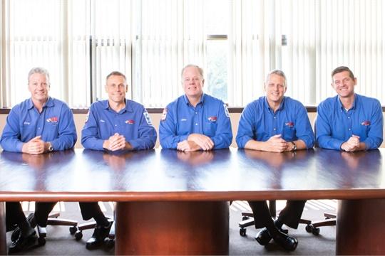 The VIP executive team, from left: Gary MacCausland, Tim Winkeler, John Quirk, Allan Kirkland and Scott Pickard. (Photo by Randy Hazelton Photography)