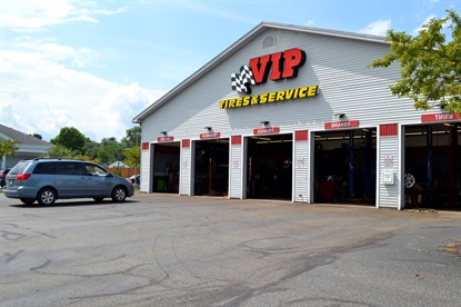 "VIP Tires & Service has 57 stores in three states, and Quirk says the Auger family that founded VIP was ""very savvy in the real estate business. They had great locations."""