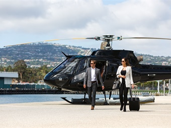 Voom announced the launch of its helicopter service in the U.S., starting with the San Francisco Bay Area.