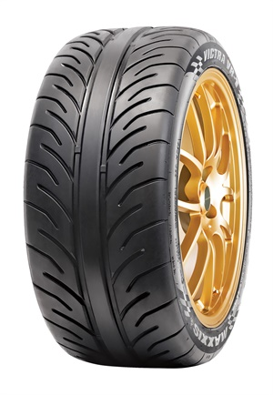 Maxxis says its new Victra VR-1 extreme summer tire is designed for motorsports enthusiasts.
