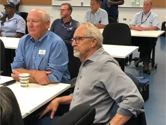 The Joint Workforce Investment program become a national model for improving the working conditions of transit workers, and it was the brainchild of now-retired bus operator and ATU member Tom Fink (right).Valley Transportation Authority
