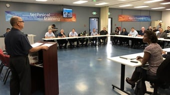 Santa Clara Valley Transportation Authority's labor/management partnership provides mentors, apprenticeships, college credit, and in many cases, career advancement, for incoming and current VTA Operations employees.