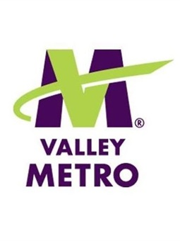 Valley Metro is the regional public transportation agency providing coordinatedtransit services to residents of metro Phoenix.