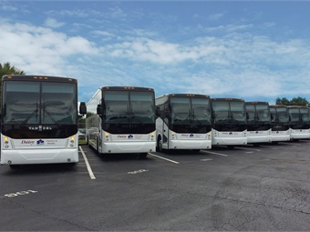 Van Hool announced that it will begin building a factory in Tennessee in the second half of 2018.