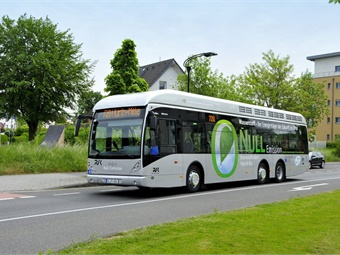 Van Hool has landed a significant contract with Germany-based bus companies, RVK Köln (pictured) and WSW Wuppertal, to supply 40 hydrogen buses. Photo: Van Hool