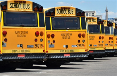 Arizona plans to use about a quarter of its Volkswagen settlement money to buy 142 new school buses in low-income communities. File photo courtesy of Clark County (Nev.) School District