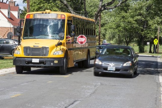 In the 2016-17 school year, six loading and unloading fatalities were attributed to a vehicle passing the school bus. File photo courtesy NHTSA
