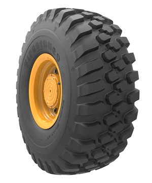 The the new Firestone VersaBuilt AT 14.00R24 tire is designed primarily for loaders and graders.
