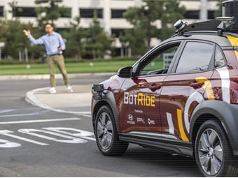BotRide is validating its user experience in preparation for a fully driverless future.Hyundai/Via