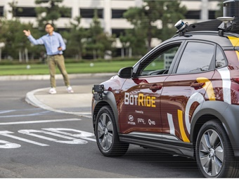 BotRide is validating its user experience in preparation for a fully driverless future.