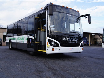 Orders for new Vicinity buses were received from the City of Medicine Hat, the County of Grande Prairie, and a private operator in Quebec.