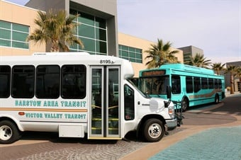 California-based Victor Valley Transit Authority (VVTA) implemented a volunteer driver reimbursement program to be able to provide transportation service to disabled individuals and seniors who are not able to utilize traditional public transportation services such as paratransit and fixed-route. Photo: VVTA