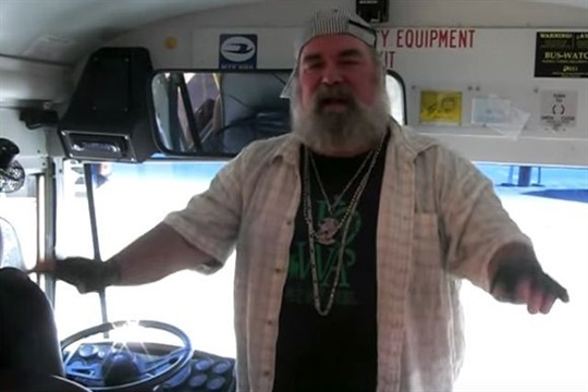 School bus driver Chuck Smith's emergency exit drill rap was one of the standout videos posted on SBF's website in 2016.